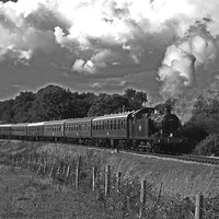 Buy canvas prints of GWR 56XX Class No.6695 by William Kempster