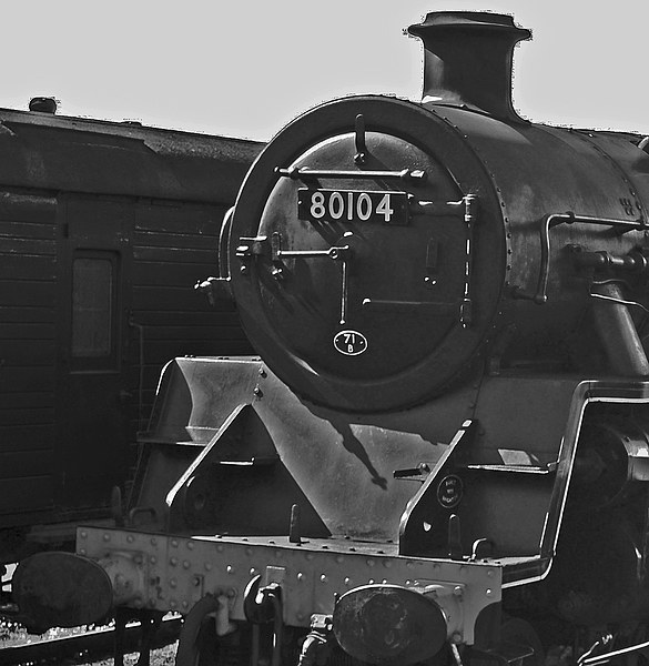BR Standard 4MT No80104 Canvas Print by William Kempster