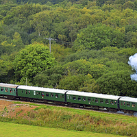 Buy canvas prints of Swanage Railway Steam Gala 2013 by William Kempster