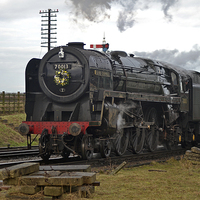 Buy canvas prints of BR Standard 7 Britannia Class