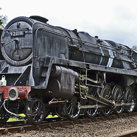Buy canvas prints of 9F 92214 by William Kempster