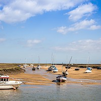 Buy canvas prints of Wells Next The Sea, Harbour by David Woodcock