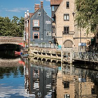 Buy canvas prints of Ribs of Beef, Public House, Norwich by David Woodcock