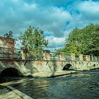 Buy canvas prints of Horstead Mill, Norfolk by David Woodcock