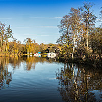 Buy canvas prints of Barton Broad, Gayes Staithe by David Woodcock