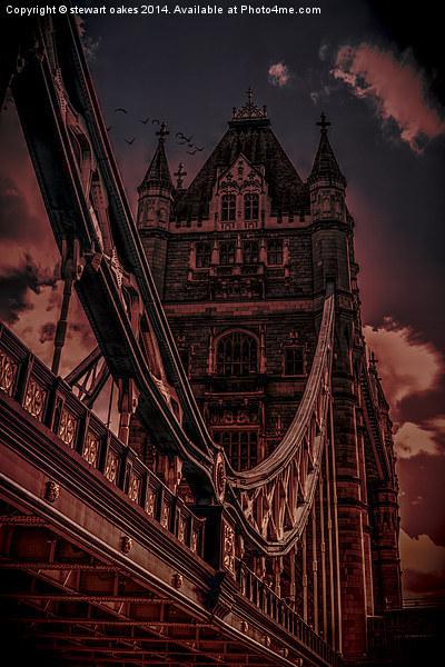 Tower Bridge London Canvas Print by stewart oakes