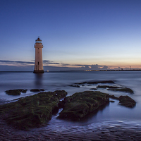 Buy canvas prints of New Brighton Lighthouse by Paul Madden