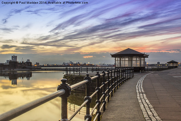 New Brighton Promenade Canvas print by Paul Madden