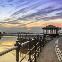 Buy canvas prints of New Brighton Promenade by Paul Madden