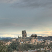 Buy canvas prints of Durham Cathedral Colour HDR by Paul Laddie