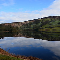 Buy canvas prints of Ladybower Reservoir                                by Malcolm Snook