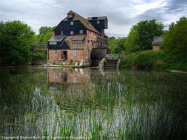 Houghton Mill Canvas print by Stephen Birch
