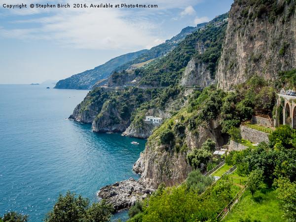 Amalfi Coast Canvas print by Stephen Birch