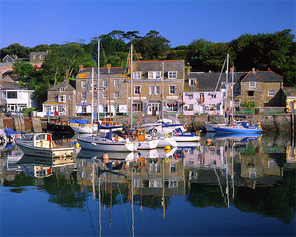 Padstow Harbour Canvas print by Darren  Galpin