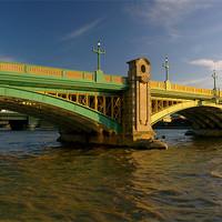 Buy canvas prints of Southwark Bridge & River Thames,London by Darren  Galpin