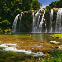 Buy canvas prints of Tinuy-an Falls, Mindanao, Philippines by Darren  Galpin