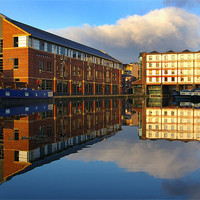 Buy canvas prints of Victoria Quays,Sheffield by Darren  Galpin