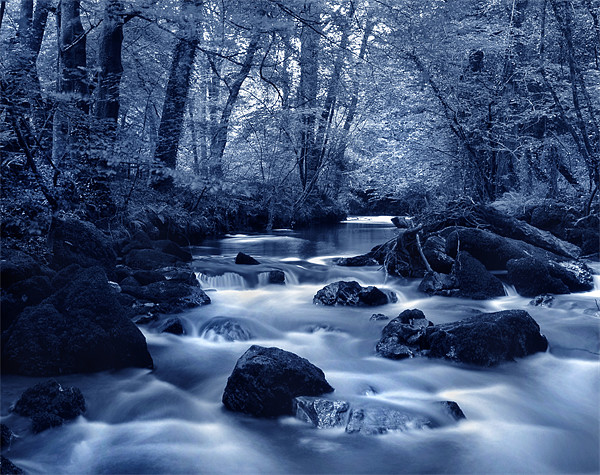 River Yealm at Yealmpton Canvas print by Darren  Galpin