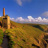 Buy canvas prints of Wheal Coates & North Cornwall Coastline by Darren  Galpin