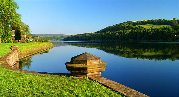 Damflask Reservoir Canvas Print by Darren  Galpin
