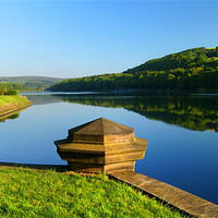 Buy canvas prints of Damflask Reservoir by Darren  Galpin