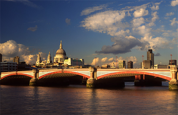 City of London Canvas print by Darren  Galpin