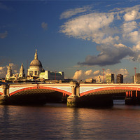 Buy canvas prints of City of London by Darren  Galpin
