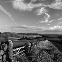 Buy canvas prints of View Towards Over Owler Tor & Millstone Edge by Darren  Galpin