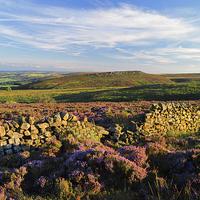 Buy canvas prints of Burbage Moor & Houndkirk Hill by Darren  Galpin