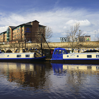 Buy canvas prints of Victoria Quays, Sheffield by Darren  Galpin