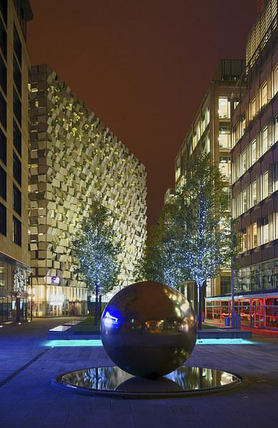 Millennium Square at Night  Canvas print by Darren Galpin