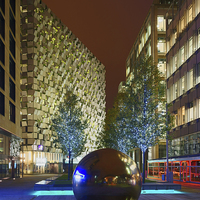 Buy canvas prints of Millennium Square at Night  by Darren Galpin