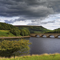 Buy canvas prints of Summer at Ladybower  by Darren Galpin