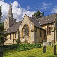 Buy canvas prints of St Bartholomew's Church, Maltby  by Darren Galpin