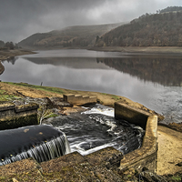 Buy canvas prints of Derwent Inflow  by Darren Galpin