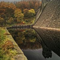 Buy canvas prints of Autumn Shades at Derwent  by Darren Galpin