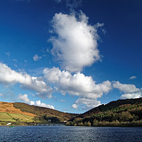 Buy canvas prints of Big Clouds at Ladybower by Darren Galpin