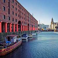 Buy canvas prints of Albert Dock, Liverpool                             by Darren Galpin