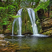 Buy canvas prints of Janet's Foss                                by Darren Galpin
