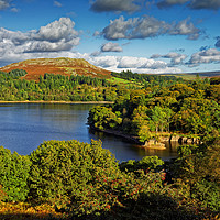 Buy canvas prints of Burrator and Sheepstor                             by Darren Galpin