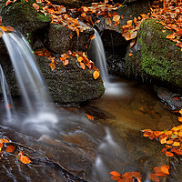 Buy canvas prints of  Porter Clough Falls                               by Darren Galpin