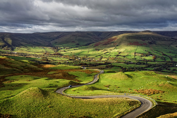 The Long and Winding Road                          Canvas print by Darren Galpin