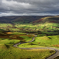 Buy canvas prints of The Long and Winding Road                          by Darren Galpin