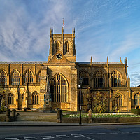 Buy canvas prints of Sherborne Abbey                        by Darren Galpin