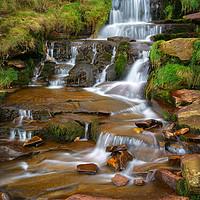Buy canvas prints of Nether North Grain Waterfalls                      by Darren Galpin