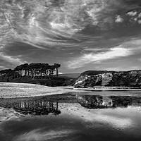Buy canvas prints of Coastline at Budleigh Salterton                    by Darren Galpin