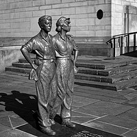 Buy canvas prints of Women of Steel, Sheffield                         by Darren Galpin