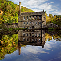 Buy canvas prints of Portrait of Gibson Mill                            by Darren Galpin