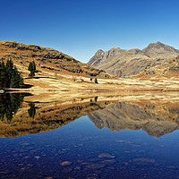 Buy canvas prints of Blea Tarn, Lake District                           by Darren Galpin
