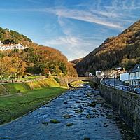 Buy canvas prints of Lynmouth                       by Darren Galpin
